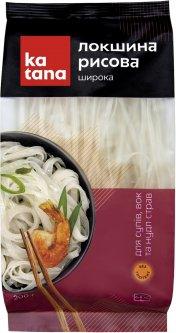 Лапша рисовая Katana толстая 200 г (4820181990473)