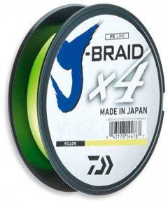 Шнур Daiwa J-Braid X4E 0.19 мм - 135 м Yellow (12740-019)
