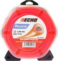 Леска косильная Echo диаметр 2.4 мм 12 м (С6000016/102142953)