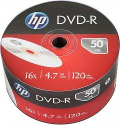HP DVD-R 4.7 GB 16X 50 шт (69303)
