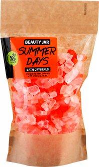 Кристаллы для ванны Beauty Jar Summer Days с маслом из апельсиновых корок 600 г (4751030831947)