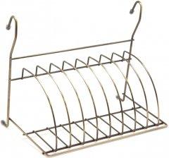 Сушка для посуды Lemax навесная для рейлинга Бронза (MX-075 BA)