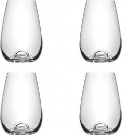 Набор бокалов для виски Lora Аркада 230 мл 4 шт (H50-057-4)