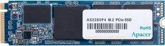 Apacer AS2280P4 512GB NVMe M.2 2280 PCIe 3.0 x4 3D NAND TLC (AP512GAS2280P4-1)