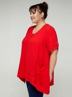 Блузка All Posa 100192_60 Амира 60 Красная
