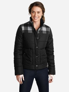 Куртка Eddie Bauer Boyfriend Jacket 3759BK M Черная