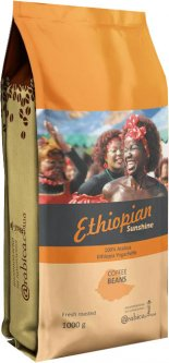 Кофе в зернах Arabica Specialty coffee Ethiopian sunshine Эфиопия Иргачиф 1 кг (4820230023022)
