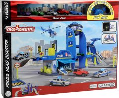 Игровой набор Majorette Креатикс Полиция с 5 машинками (2050030)