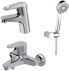 Набор смесителей для ванной комнаты 3-в-1 CERSANIT Cari B245 (S601-125)