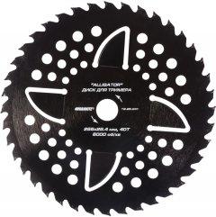 Диск для триммера Granite Alligator 255 x 25.4 мм 40Т с победитовой напайкой (19-25-041)