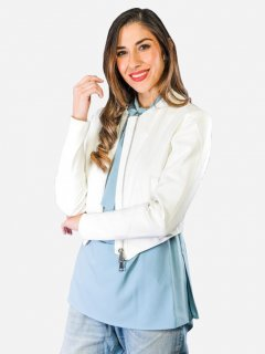 Куртка Twinset TS1072 XS Біла (201030828)