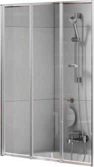 Шторка для ванны NEW TRENDY Trex P-0153 100 прозрачная