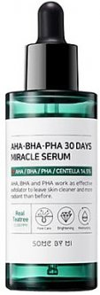 Сыворотка для лица Кислотная сыворотка для лица Some By Mi AHA.BHA.PHA 30 Days Miracle Serum 50 мл (8809525242764)
