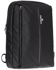 Рюкзак Safari Business 41 х 30 х 14 см 17 л Черный (20-163L-1) (8591662201635)