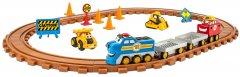 Железная дорога CAT Строительный экспресс для дошкольников со светом и звуком (011543803751)
