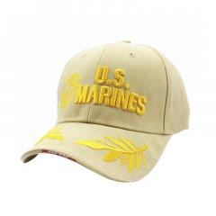 Бейсболка Han-Wild U.S.Marines Хаки армейская с вышивкой мужская
