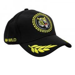 Бейсболка Han-Wild Tiger Черный модная кепка с вышивкой