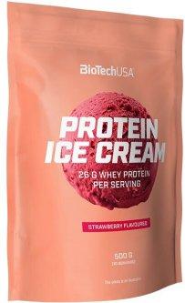 Протеиновое мороженое Biotech Protein Ice Cream 500 г Клубника (5999076232062)