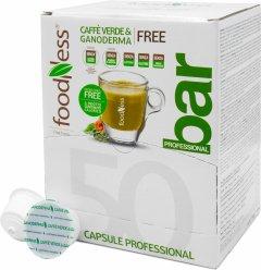 Кофейный капсульный напиток Foodness Зеленый кофе с ганодермой 50 капсул Dolce Gusto по 14 г (8031848003825)