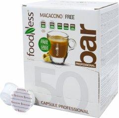 Кофейный капсульный напиток Foodness Моккачино с экстрактом Маки перуанской 50 капсул Dolce Gusto по 14 г (8031848004969)