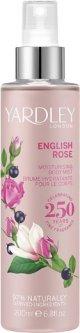 Спрей для тела Yardley English Rose 200 мл (5060322953908)