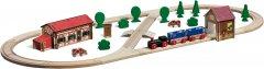 Игровой набор Eichhorn Железная дорога. Путешествие на ферму 41 элемент 360 см (100001268)