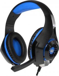Наушники Crown CMGH-102T USB Blue