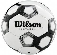 Мяч футбольный Wilson Pentagon Size 5 White (WTE8527XB05)
