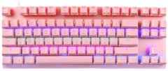 Клавиатура проводная Motospeed K82 Outemu Blue USB Pink (mtk82pmb)