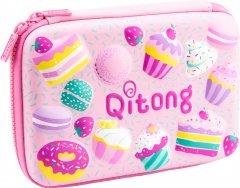 Пенал с тиснением Cool For School 1 отделение Розовый (QT-3993-Pink)