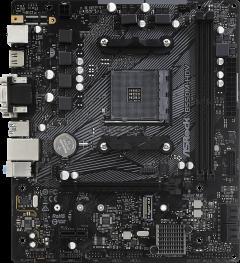 Материнская плата ASRock B550M-HDV (sAM4, AMD B550, PCI-Ex16)
