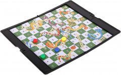 Магнитная настольная игра UB Snakes and Laaders Game Змеи и лестницы мини (1692) (2000999554223)