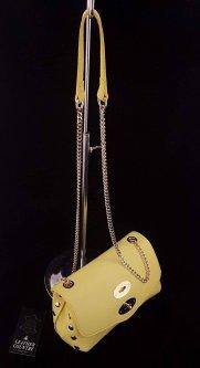 Сумка женская из натуральной кожи Leather Country 2593537 Лимонный