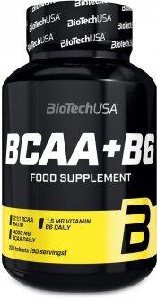 Аминокислоты Biotech BCAA+b6 100 таблеток