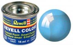Краска эмалевая Revell Email Color №752 Голубая прозрачная глянцевая 14 мл (RVL-32752) (0000042082460)