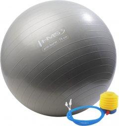 Мяч гимнастический HMS Anti-Burst 75 см Серый (YB02(75))