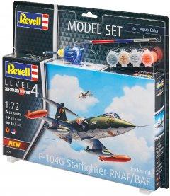 """Сборная модель Revell Набор истребитель F-104 """"Старфайтер"""". Масштаб 1:72 (RVL-63879) (4009803638799)"""