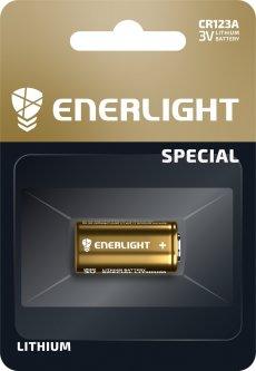 Батарейка Enerlight Lithium CR 123A 1 шт (71230101)