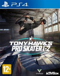 Игра Tony Hawk Pro Skater 1&2 для PS4 (Blu-ray диск, English version/Russian subtitles)