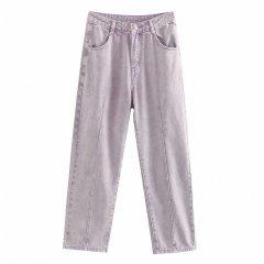 Джинси жіночі oversize Lavender, фіолетовий Berni Fashion (L) Фіолетовий (55848)