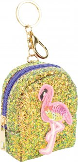 Брелок-кошелек Cool For School Фламинго с блестками и аппликацией (CF86918)