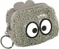 Брелок-кошелек Cool For School пушистый с аппликацией (CF86927)