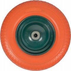 Колесо для тачек Kanat полиуретановое с подшипником 400x80мм (PDT-753)
