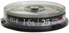 НР BD-R 25GB 6X 10 шт (69321 /BRE00071-3)