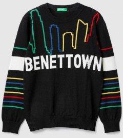 Джемпер United Colors of Benetton 1041Q1965.G-118 140 см L (8032652473569)