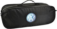 Сумка-органайзер в багажник Фольцваген черная размер 50 х 18 х 18 см (03-109-2Д)