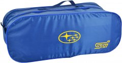 Сумка-органайзер в багажник Субару СТ синяя размер 50 х 18 х 18 см (03-101-2Д)
