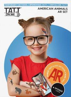 Временные тату TATTon.me AR American Set (TSARAmerican) (4820191131750)