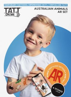 Временные тату TATTon.me AR Australian Set (TSARAustralian) (4820191131798)