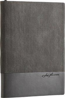 Ежедневник недатированный Leo Planner Velvet A6 PU 352 страницы Серый (252035)